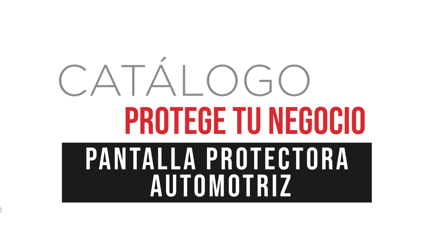Promomart - Pantalla Protectora Automotriz